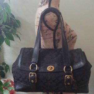 Black medium Coach bag